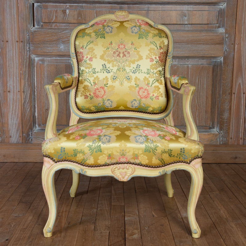 Fauteuil Rochefort style Louis XV