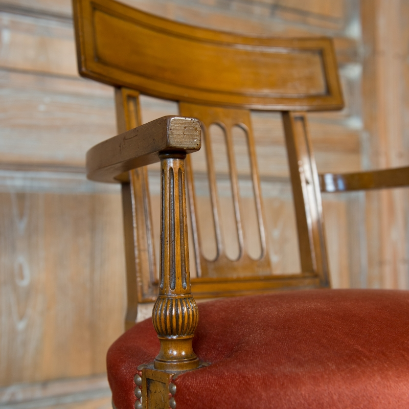 Chaise Porrot style Directoire