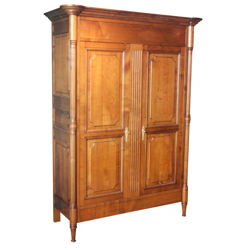 armoire marie antoinette de style louis xvi louis xvi ateliers allot meubles et si ges de. Black Bedroom Furniture Sets. Home Design Ideas