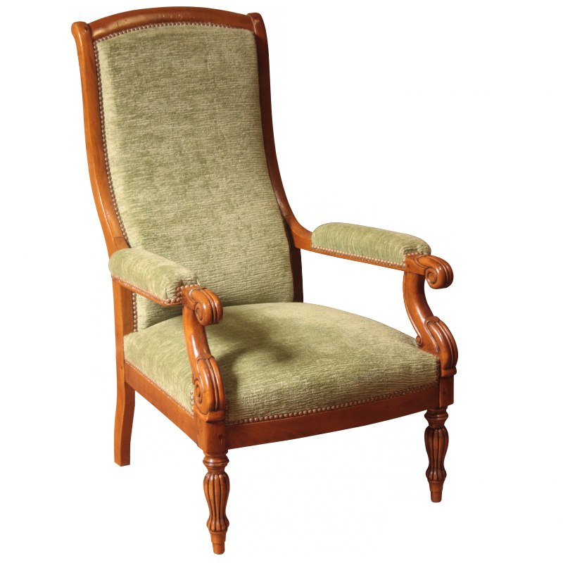 fauteuil mauzancieux style restauration louis philippe. Black Bedroom Furniture Sets. Home Design Ideas