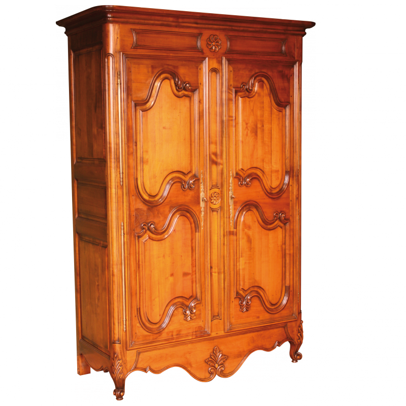 armoire merdrignac style louis xv louis xv ateliers. Black Bedroom Furniture Sets. Home Design Ideas