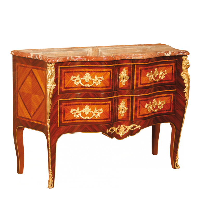 Commode de style Louis XV Migeon