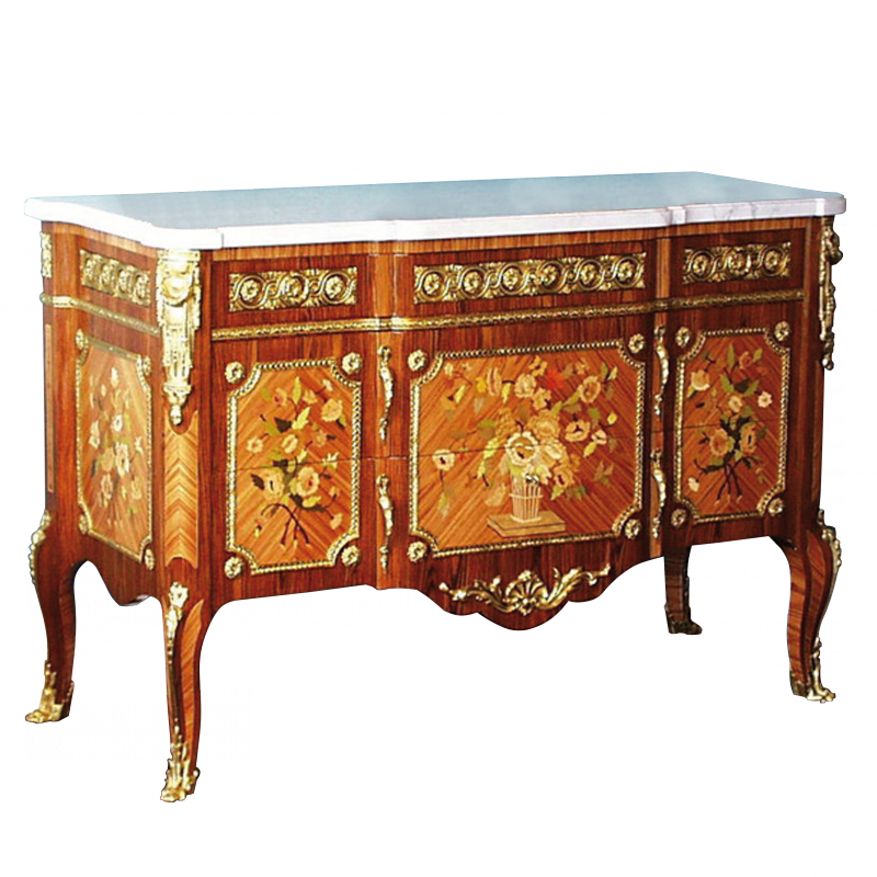 commode riesener style louis xvi louis xvi ateliers allot meubles et si ges de style. Black Bedroom Furniture Sets. Home Design Ideas