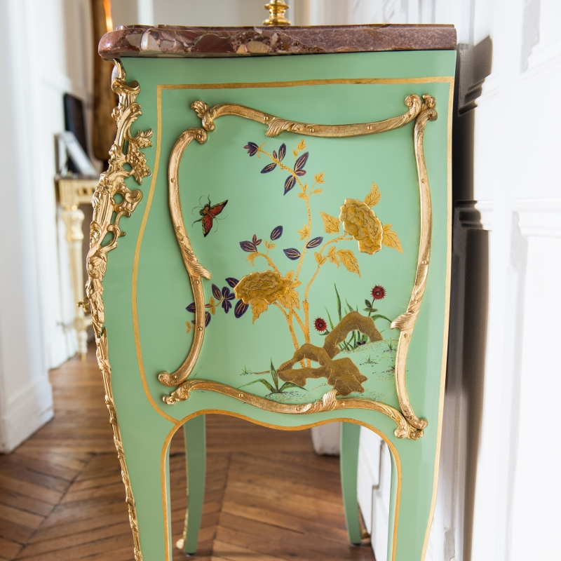 Commode Jacques Dubois style Louis XV