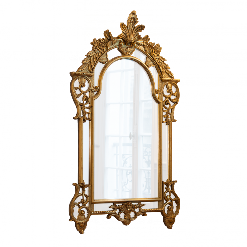 miroir tynevez style louis xv louis xv ateliers allot meubles et si ges de style. Black Bedroom Furniture Sets. Home Design Ideas