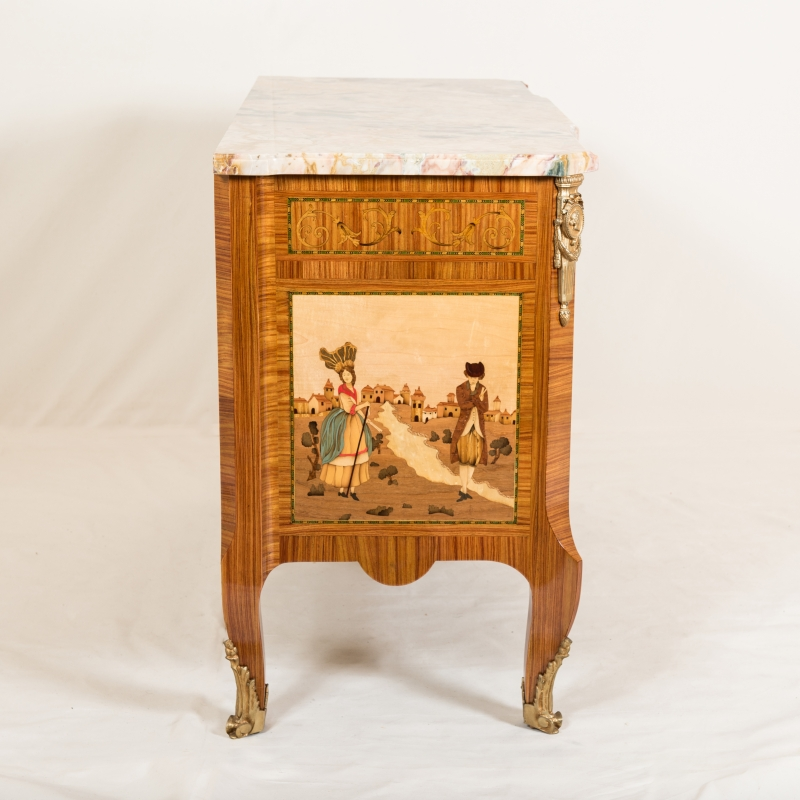 Commode Schliting style Louis XVI