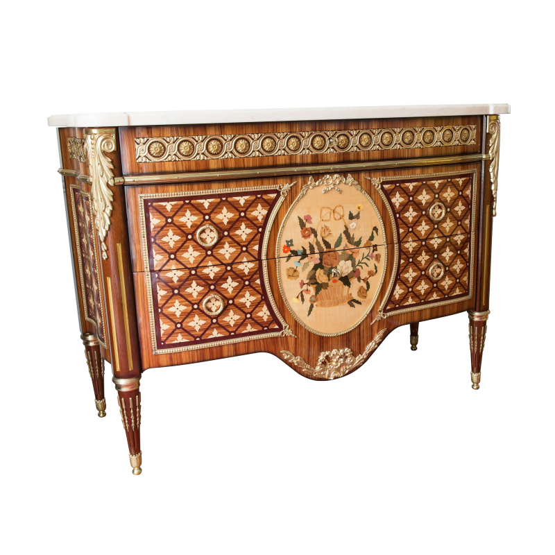 commode bvrb style louis xvi louis xvi ateliers allot meubles et si ges de style. Black Bedroom Furniture Sets. Home Design Ideas