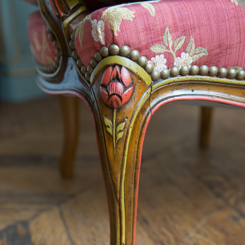Fauteuil Heurtault style Louis XV
