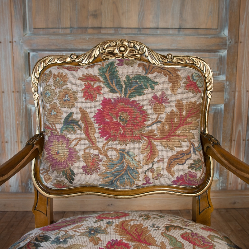 Fauteuil Amand style Louis XIV
