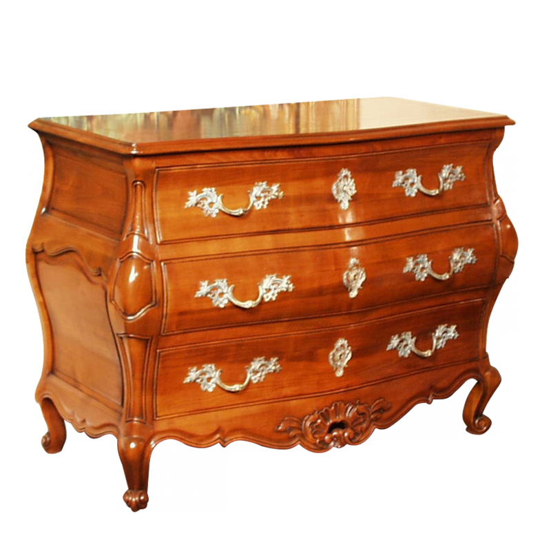 commode bordelaise style r gence louis xv ateliers. Black Bedroom Furniture Sets. Home Design Ideas