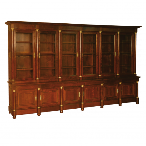 fabricant d 39 armoire de style empire ateliers allot meubles et si ges de style. Black Bedroom Furniture Sets. Home Design Ideas